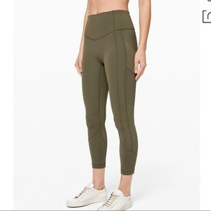 NWT Lululemon All The Right Places Crop 23 Sage 6
